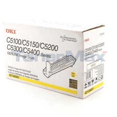 OKIDATA C5000 IMAGE DRUM YELLOW